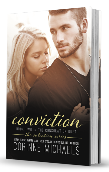 Conviction NEW Hardcover Book